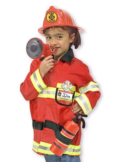 Melissa & Doug Fire Chief Role Play Costume Set by Melissa & Doug - My100Brands