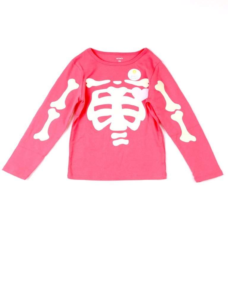 Carter's Glow-in-the-Dark Skeleton Halloween T-Shirt by Carters - My100Brands