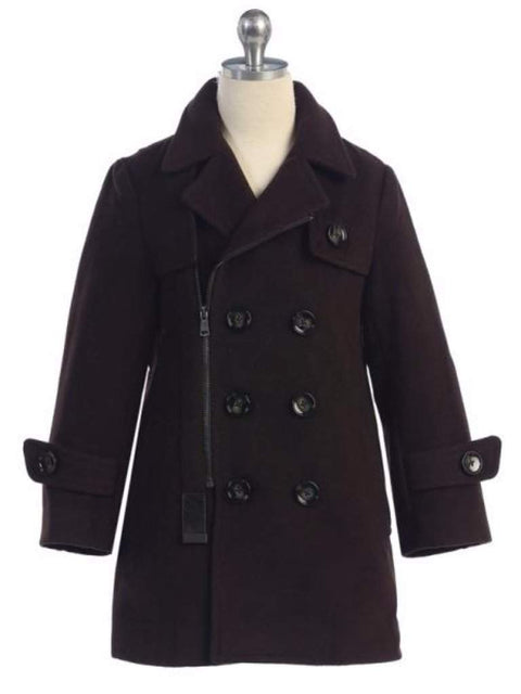 BJK Boy's Overcoat by My100Brands - My100Brands