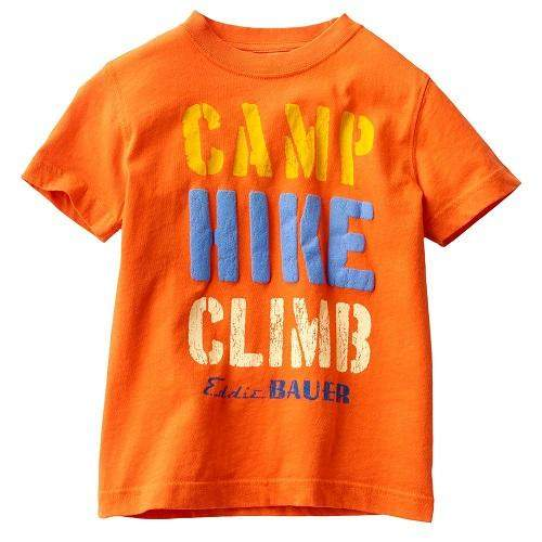 Eddie Bauer Camp Hike Climb Tee Shirt by Eddie Bauer - My100Brands