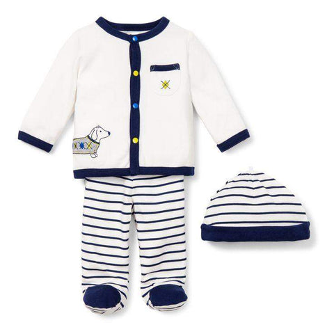 Little Me Boutique 3 Piece Take Me Home Set by Little Me - My100Brands