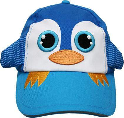 Safari Kids Paul The Blue Penguin Ball Cap by Safari Kids - My100Brands
