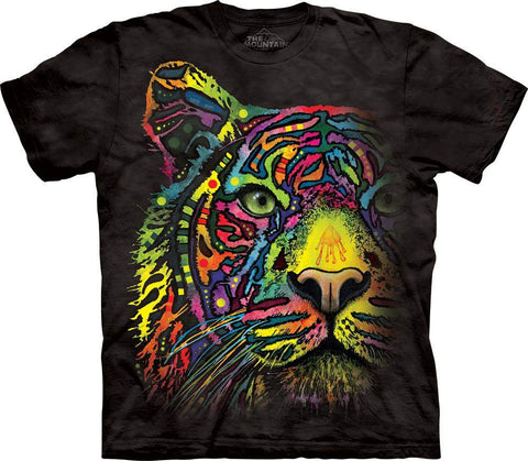Rainbow Tiger T-Shirt by The Mountain - My100Brands