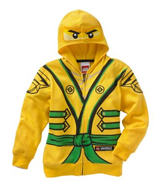 Lego Ninjago Costume Boy's Hoodie by Lego - My100Brands