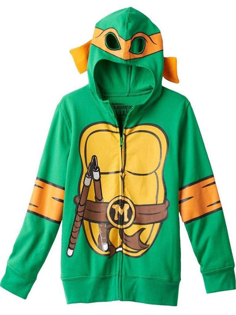 Boy's Teenage Mutant Ninja Turtles Hoodie by My100Brands - My100Brands