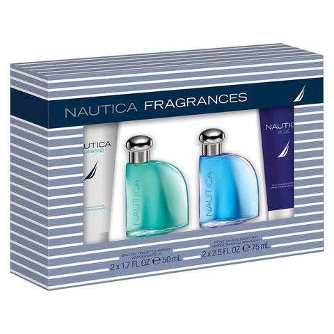 Nautica Men's Cologne Collection 4-Pc Gift Set by Nautica - My100Brands