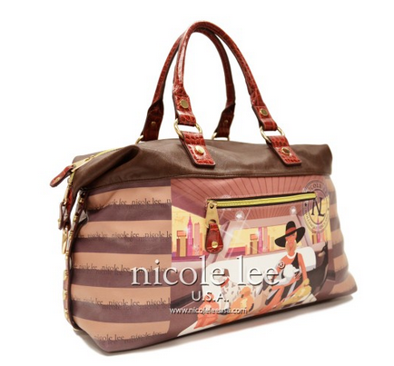 Lauren Print Overnighter Bag by Nicole Lee - My100Brands