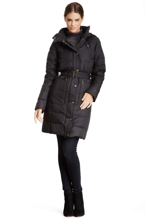 Tommy Hilfiger 3/4 Puffer Coat by Tommy Hilfiger - My100Brands