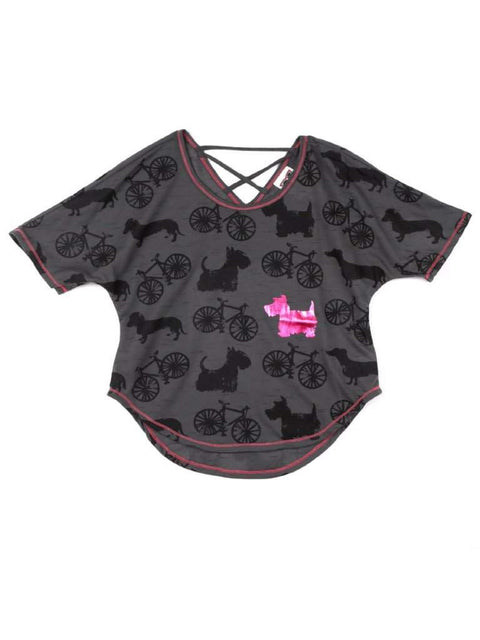Belle Du Jour Printed Dog Tee by Belle Du Jour - My100Brands