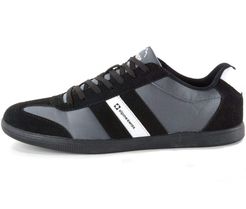 Alpine Swiss Haris Striped Athletic Shoes by Alpine Swiss - My100Brands