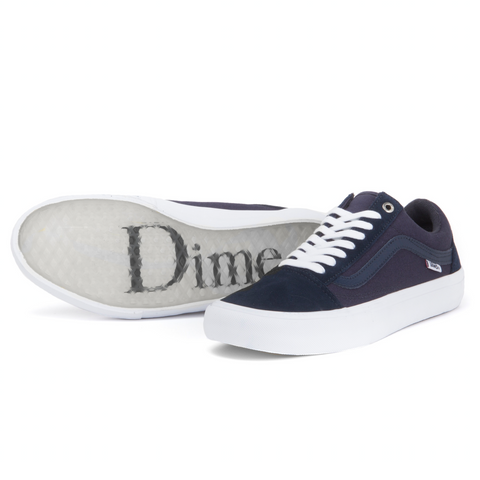 "Vans x Dime - Old Skool Pro ""Blue Nights/White"" by Vans - My100Brands"