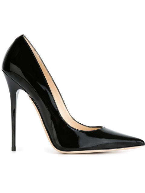 Jimmy Choo Black Patent Leather 'Anouk'-My100Brands