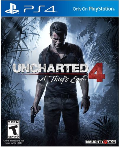 Uncharted 4: A Thiefs End for PlayStation 4 by Naughty Dog - My100Brands