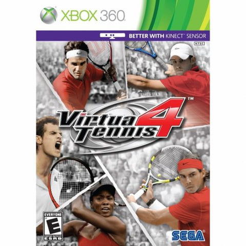Virtua Tennis 4 for XBOX 360 by Sega - My100Brands