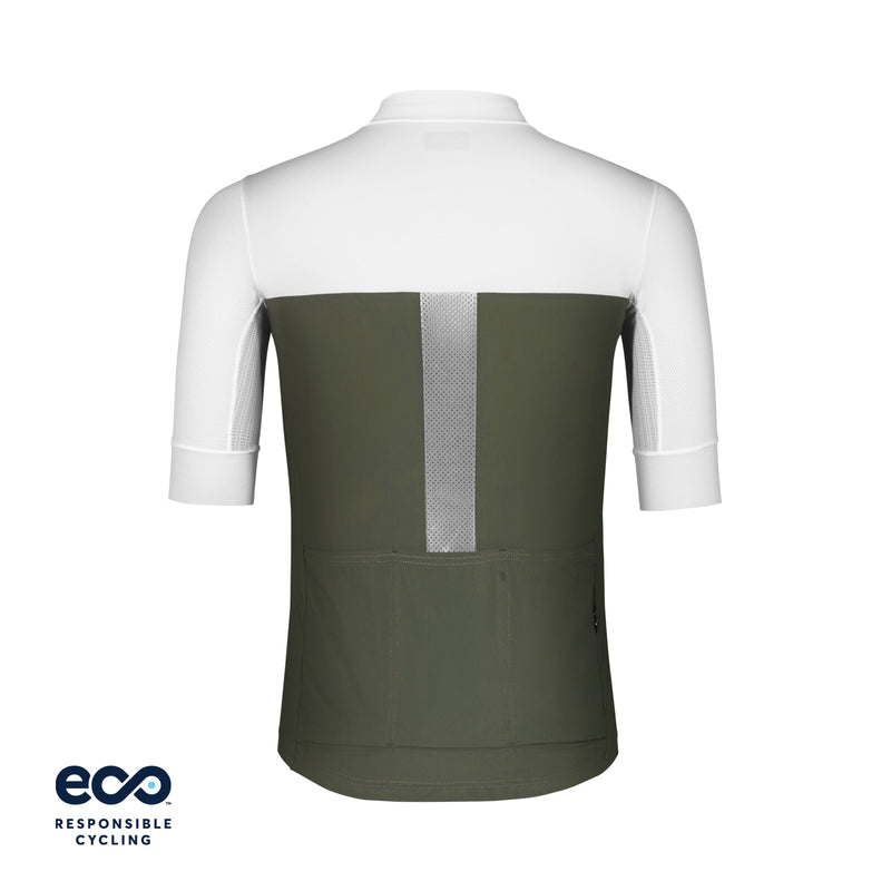 CHARLES JERSEY OLIVE GREEN ECO