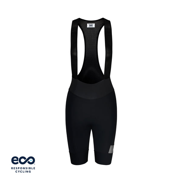WOMEN'S PAUL BIB SHORTS BLACK ECO