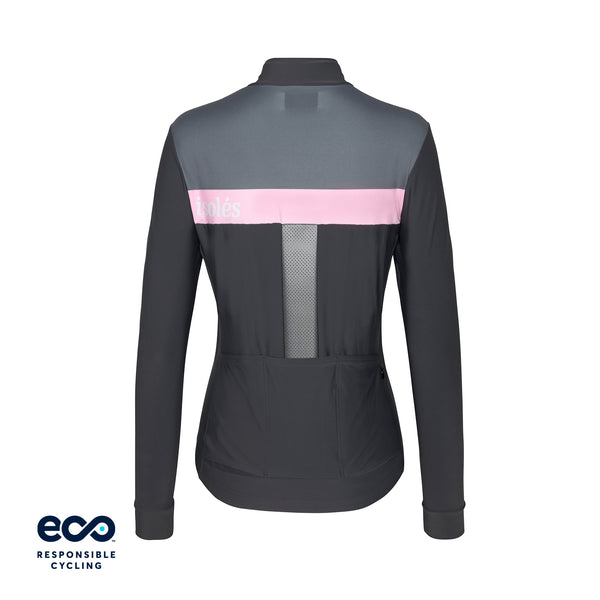 WOMEN'S JULES SUMMER JERSEY LS STEEL GREY ECO