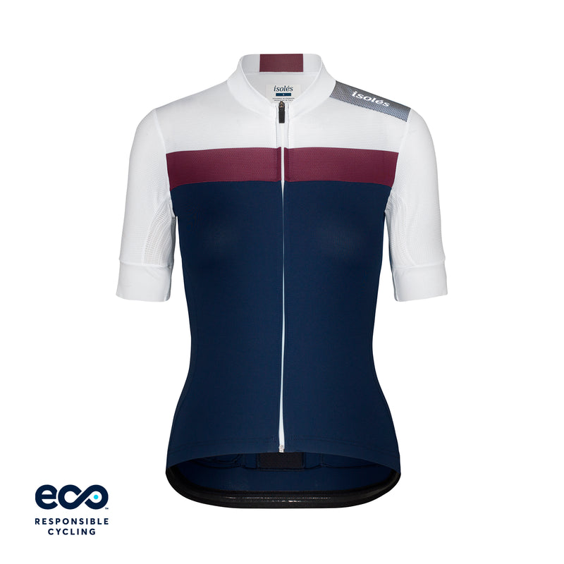 WOMEN'S JULES JERSEY NAVY / WHITE ECO