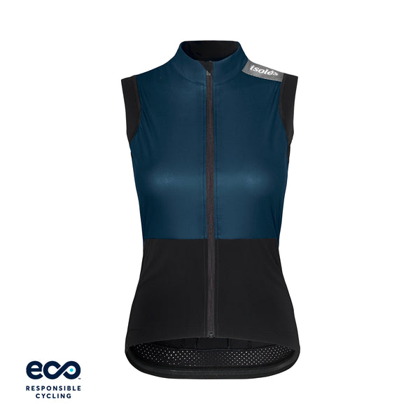 WOMEN'S JULES GILET NUBE BLUE ECO