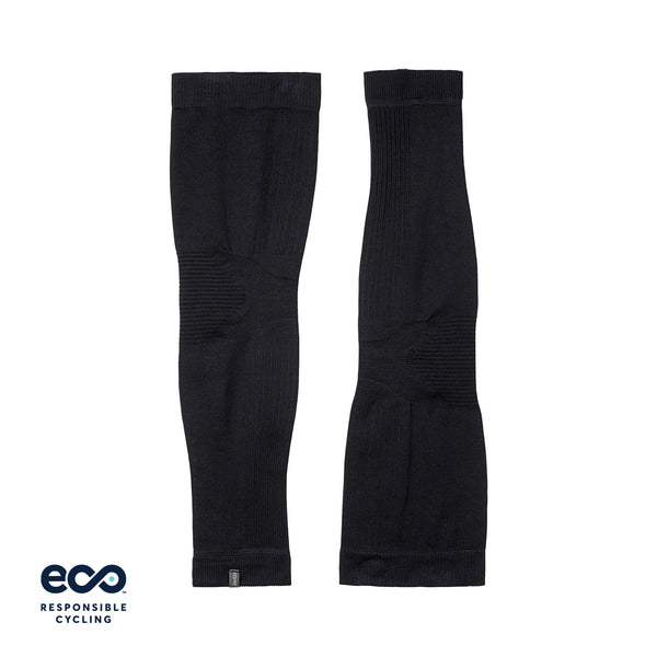 PAUL SEAMLESS LEG WARMERS BLACK ECO