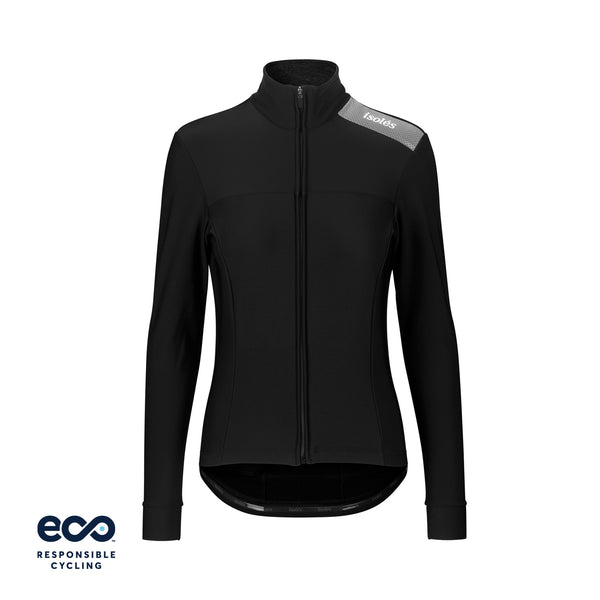 WOMEN'S PAUL JERSEY LS BLACK ECO