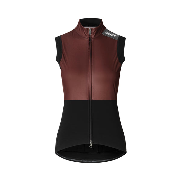 WOMEN'S JULES GILET POMPEII RED ECO