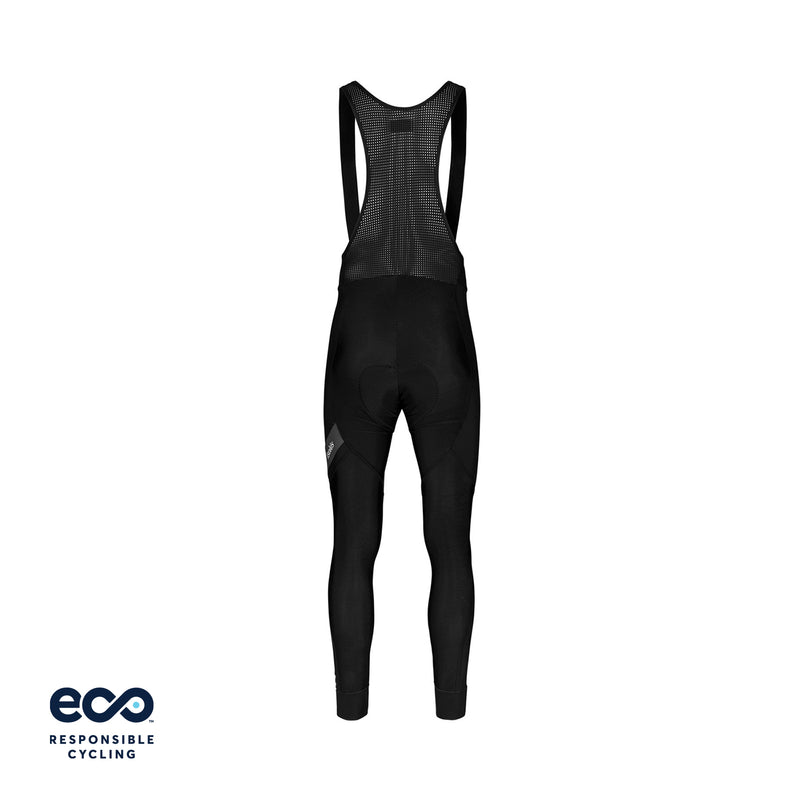 PAUL WINTER BIB TIGHT BLACK ECO - WITH CHAMOIS