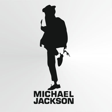Michael Jackson Big & Small Sizes Colour Wall Sticker Wall Decor Modern Style King Of Pop Singer / Michael2