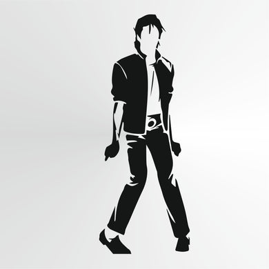 Michael Jackson Reusable Stencil Big Sizes Wall Decor Modern Style King Of Pop Singer  / Michael3
