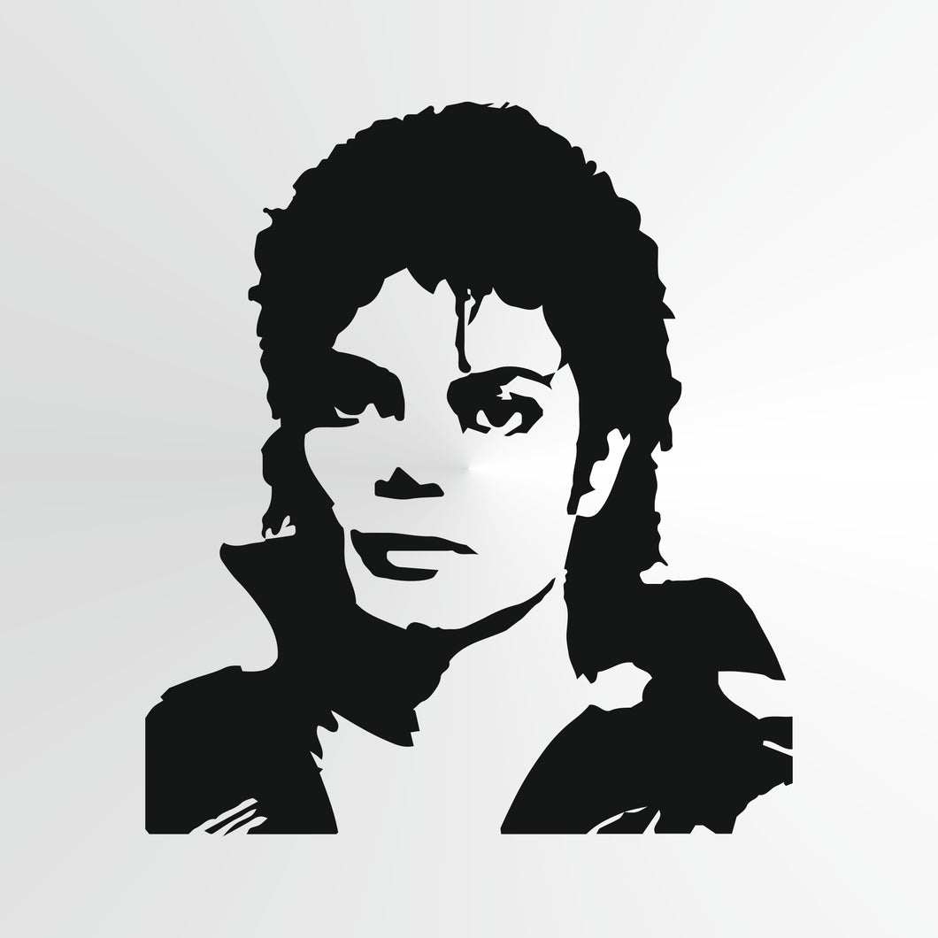 Michael Jackson Reusable Stencil Big Sizes Wall Decor Modern Style King Of Pop Singer  / Michael4