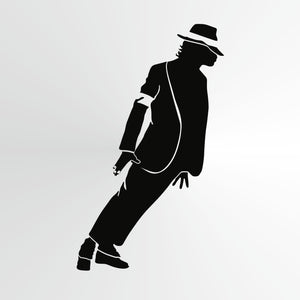 Michael Jackson Big & Small Sizes Colour Wall Sticker Wall Decor Modern Style King Of Pop Singer / Michael7