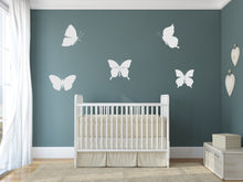 Set of Butterflies Big & Small Sizes Colour Wall Sticker Animal Romantic Style / Bird109