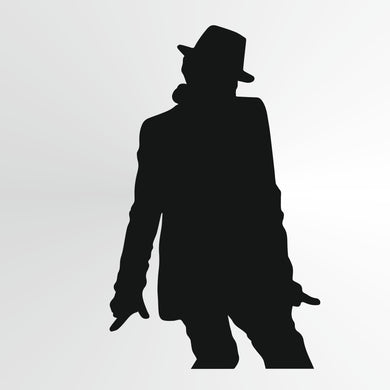 Michael Jackson Reusable Stencil Big Sizes Wall Decor Modern Style King Of Pop Singer  / Michael8