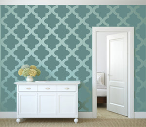 MOROCCAN TILE Big & Small Sizes Colour Wall Sticker Modern Style 'Morocco4'