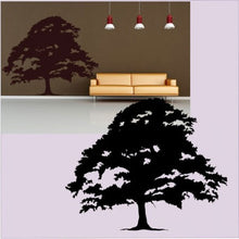 SINGLE WIDE TREE  Big & Small Sizes Colour Wall Sticker Modern Floral Shabby Chic Style 'Tree28'