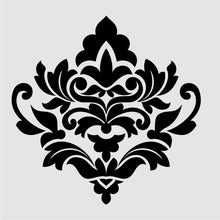 BAROQUE ORNAMENT Sizes Reusable Stencil Shabby Chic Romantic Style 'B9'