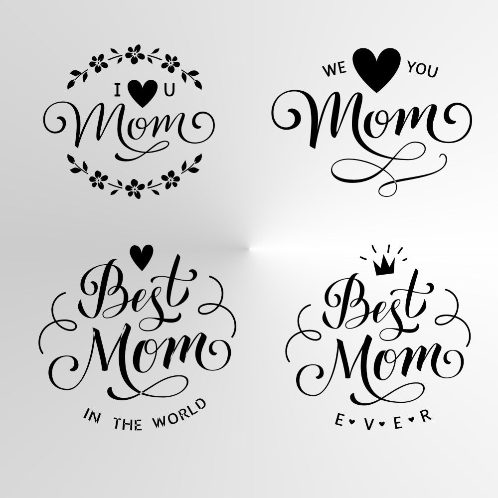 MOTHER'S DAY Reusable Stencil VARIOUS SIZES STENCIL Love you, Best, Forever Mommy, Mother MOM