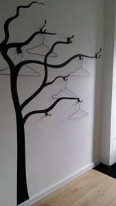 HANGER TREE  Sizes Reusable Stencil Floral Tree Modern Style 'J39'