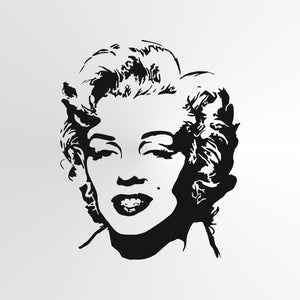 Marilyn Monroe Big & Small Sizes Colour Wall Sticker Wall Decor Modern Style Actress Singer / Marilyn1
