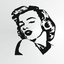 Marilyn Monroe Big & Small Sizes Colour Wall Sticker Wall Decor Modern Style Actress Singer / Marilyn2