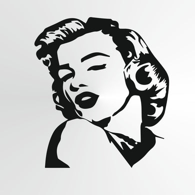 Marilyn Monroe Reusable Stencil Big Sizes Wall Decor Modern Style Actress Singer  / Marilyn2