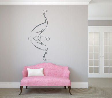 DUCK SKETCH Big & Small Sizes Colour Wall Sticker Animal Romantic Style 'Kids66'