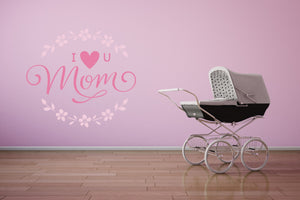 MOTHER'S DAY Wall Sticker VARIOUS SIZES Colour Love you, Best, Forever Mommy, Mother MOM