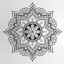 MANDALA STAR MEDALLION Sizes Reusable Stencil Exotic Oriental Travel 'Mandala3'