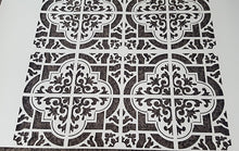 MAROCCAN TILE SQUARE Sizes Reusable Stencil Exotic Oriental Travel 'Morocco2'