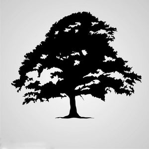 SINGLE WIDE TREE Sizes Reusable Stencil Floral Nature Modern Shabby Chic 'Tree28'