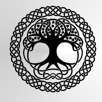 Tree of life Mandala Celtic Big & Small Sizes Colour Wall Sticker Oriental Modern / M7