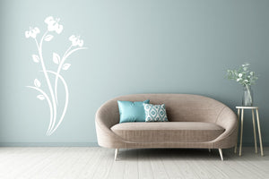 CORNFLOWER BUNCH Big & Small Sizes Colour Wall Sticker Shabby Chic Romantic Style 'Flora12'