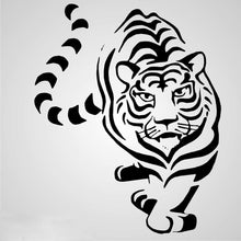 TIGER Sizes Reusable Stencil Animal Romantic Modern Kids Room Style 'Animal100'