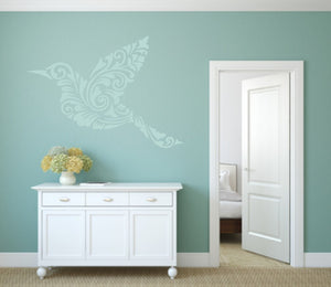 MOHENDI BIRD Big & Small Sizes Colour Wall Sticker Shabby Chic Oriental Style / Bird5